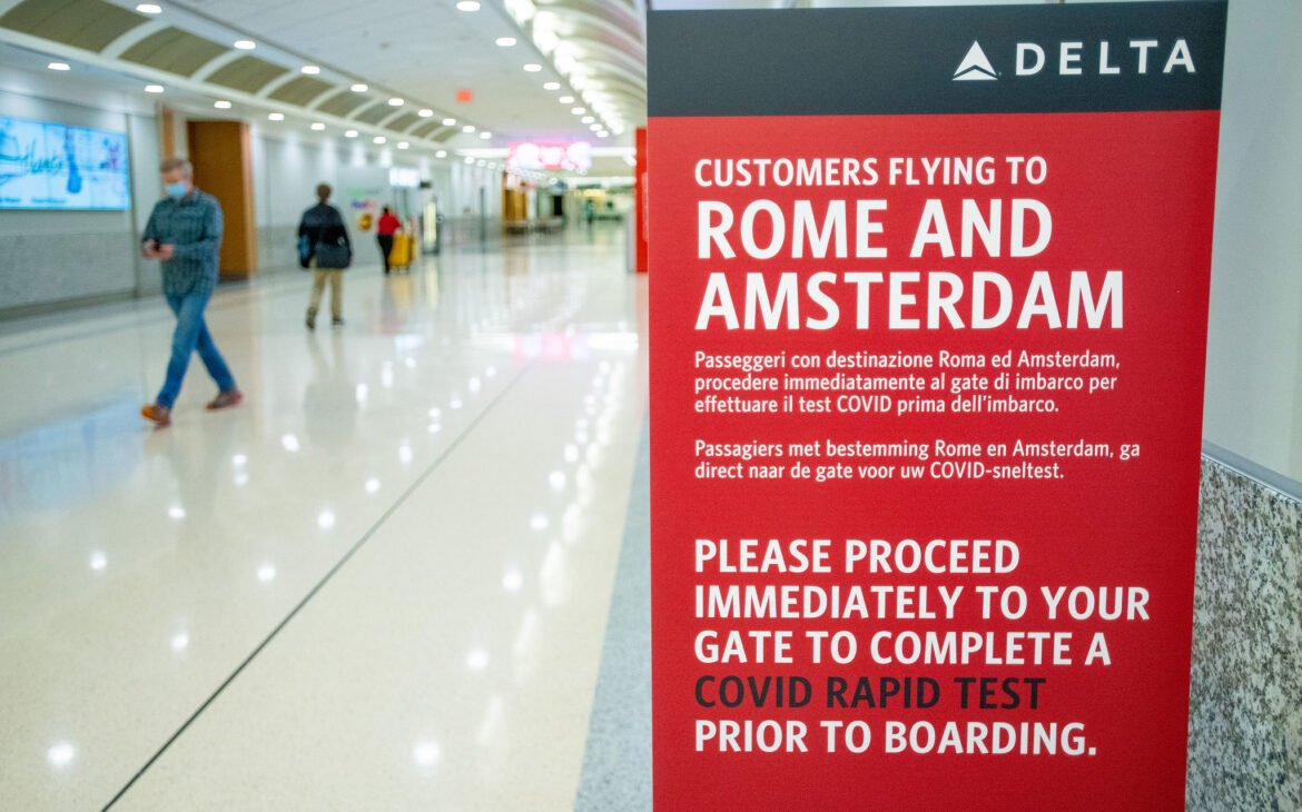 Airline introduces testing protocols on flights to Amsterdam and Rome exempting quarantine on arrival