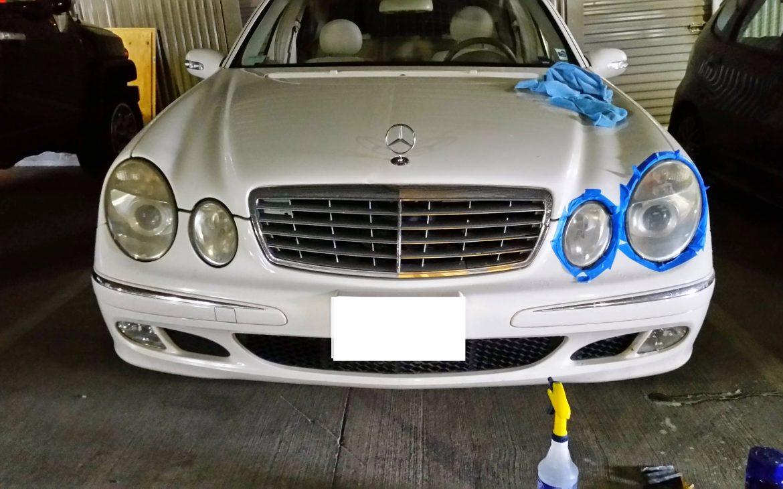 Restore E500 Headlights
