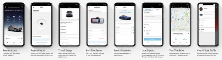 Mercedes-Benz Ma App, Enhancing the user experience