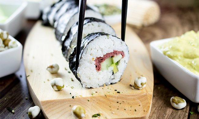 The Beefy Cali Roll