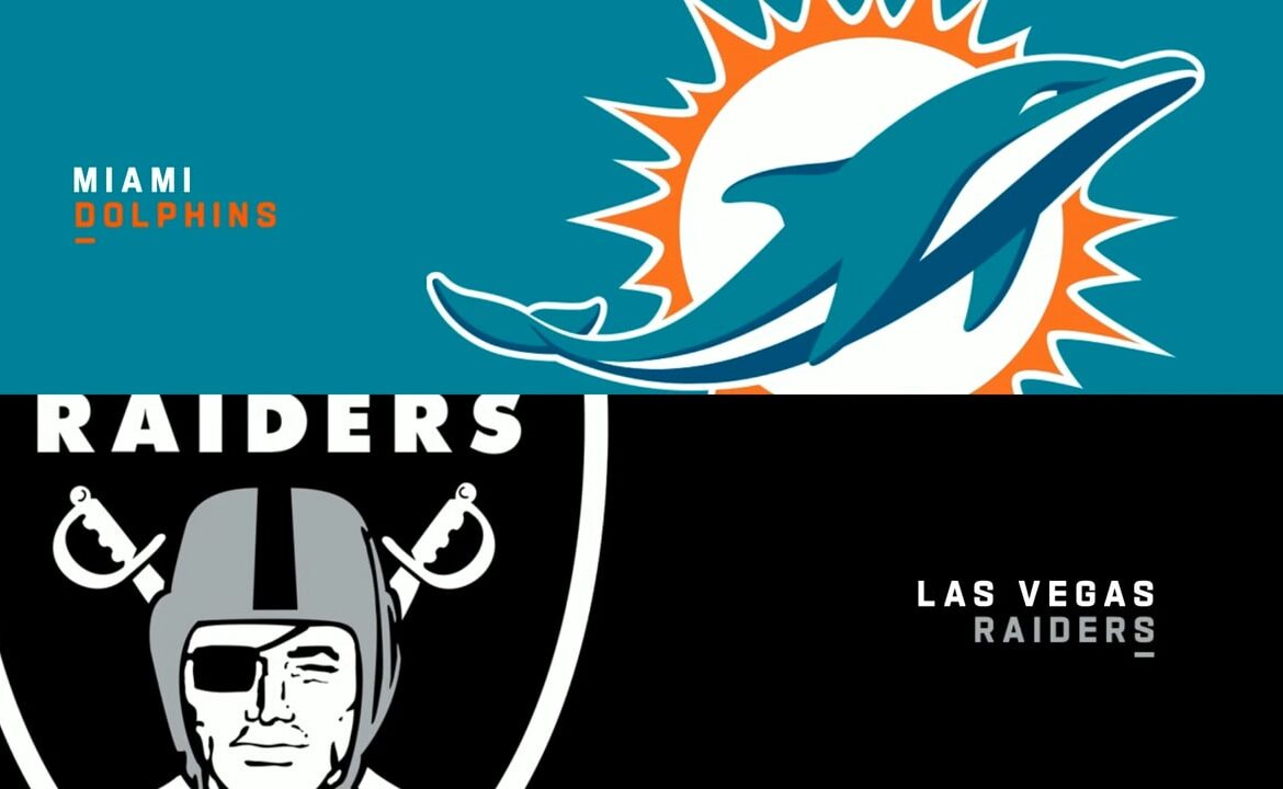 Raiders vs. Dolphins - Week 16