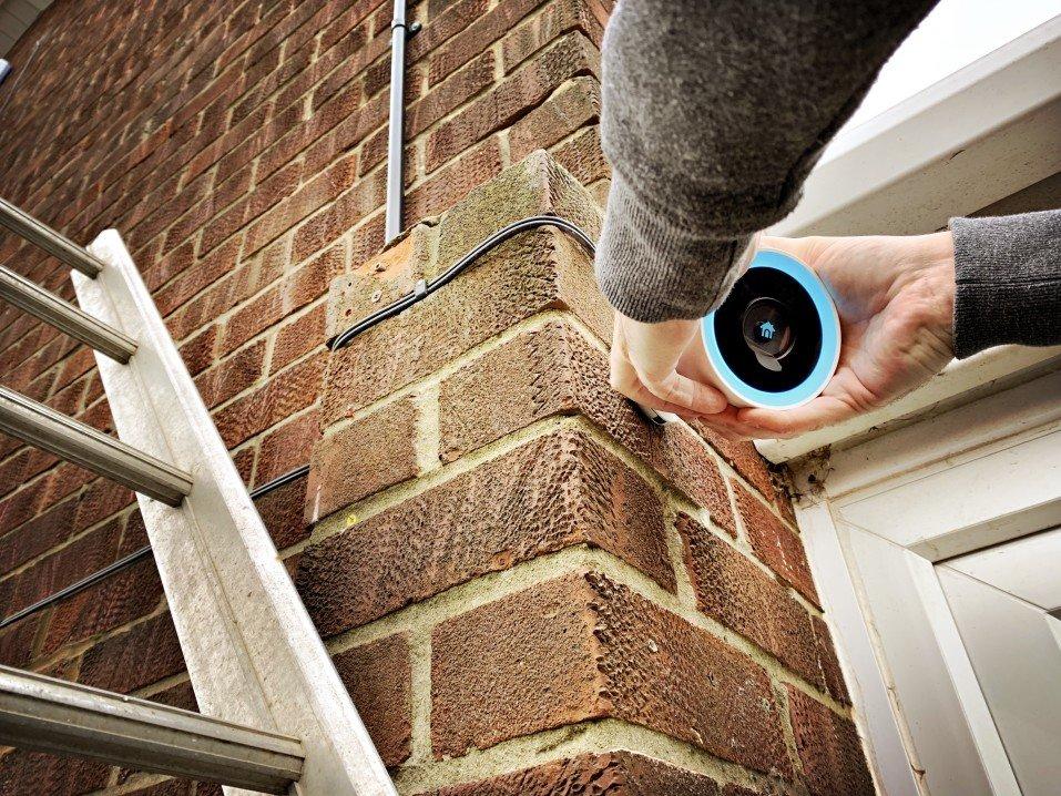 Home Camera Installation
