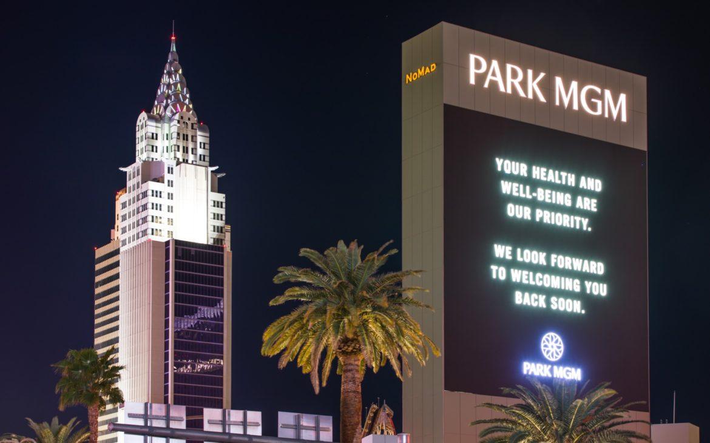 Park MGM Closed Due to Coronavirus